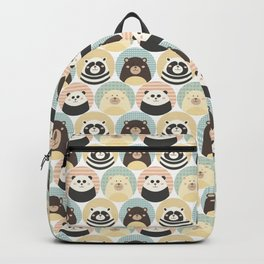 Round animal Backpack