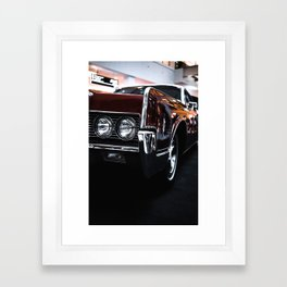 Car headlight 4 Framed Art Print