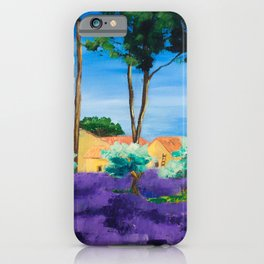 Among the Lavender iPhone Case
