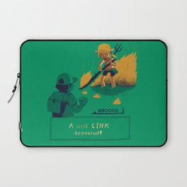 a wild link appeared Laptop Sleeve