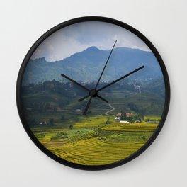 LANDSCAPE - Sa Pa Wall Clock