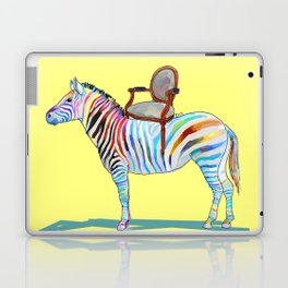animals with chairs #4 Chair on a Zebra Laptop & iPad Skin