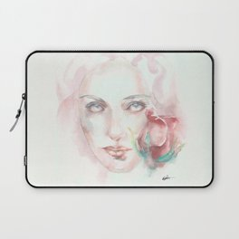Simple Things Watercolor Laptop Sleeve