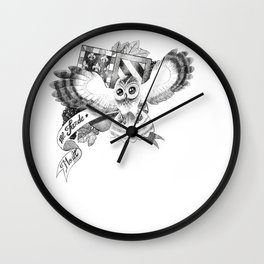 Chouette Wall Clock
