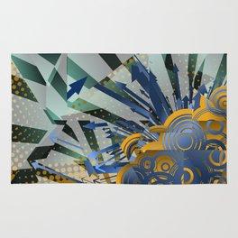 Vector Cubism Rug