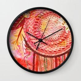 Dream Catching Wall Clock