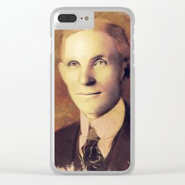 Henry Ford, Inventor Clear iPhone Case