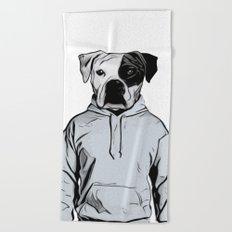 Cool Dog Beach Towel