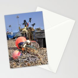 Beer Fishing  Stationery Cards