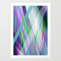 rave Art Prints featuring Crystal Rave by GS Designs
