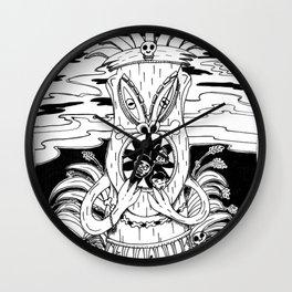 Tiki lunch Wall Clock
