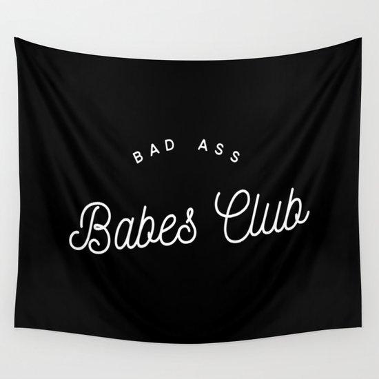 BAD ASS BABES CLUB B&W by eleganceinleather