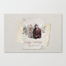 OUAT HAPPY HOLIDAYS // Swan Queen Canvas Print