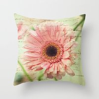 shabby chic Throw Pillows featuring Shabby Chic by whimsy canvas