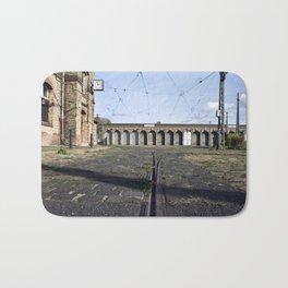 Old Tramstation - Depot - Berlin - Pankow Bath Mat