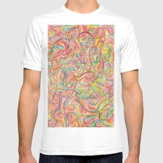 :s Mens Fitted Tee MEDIUM White