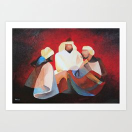 We Three Kıngs Art Print