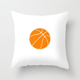 Winners Train, Losers Complain Basketball T-shirt Throw Pillow