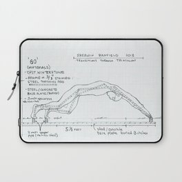 Go Drawing, Transitions through Triathlon Laptop Sleeve
