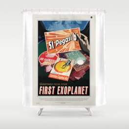 First Exoplanet Shower Curtain