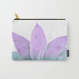 Mermaid Agave on White #1 #tropical #decor #art #society6 Carry-All Pouch