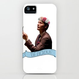 Hannibal - Flower Crown iPhone Case