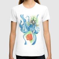 zodiac T-shirts featuring Zodiac - Aquarius by Simona Borstnar