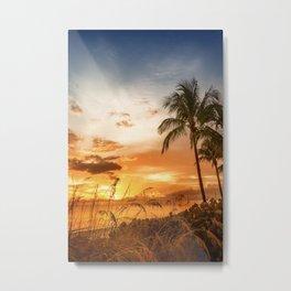 BONITA BEACH Lovely Sunset Metal Print