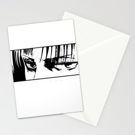 Attack on Titan Levi Ackerman Stationery Cards