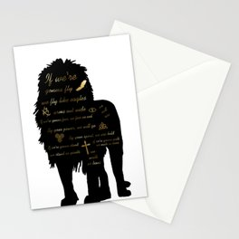 We Walk as Lions Stationery Cards