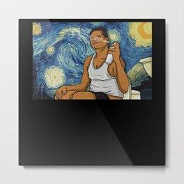 Starry Night Friday-sn, Van Gogh Metal Print
