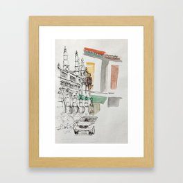 Angles of Little India 1 Framed Art Print
