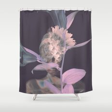 Our Lady Of The Flowers Shower Curtain