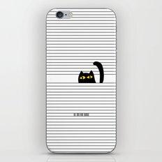 I Creep On You iPhone & iPod Skin