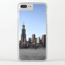 Fog in the Windy City Clear iPhone Case