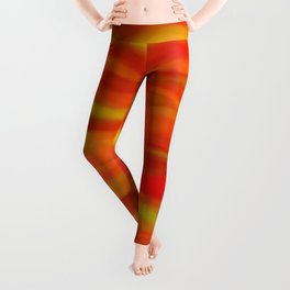 Pumpkin Spice and Butternut Squash Abstract Leggings