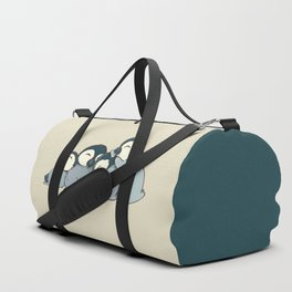 Pile of penguins Duffle Bag