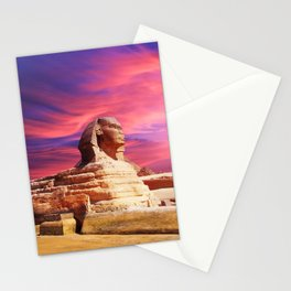 Great Sphinx of Giza, Egypt Stationery Cards