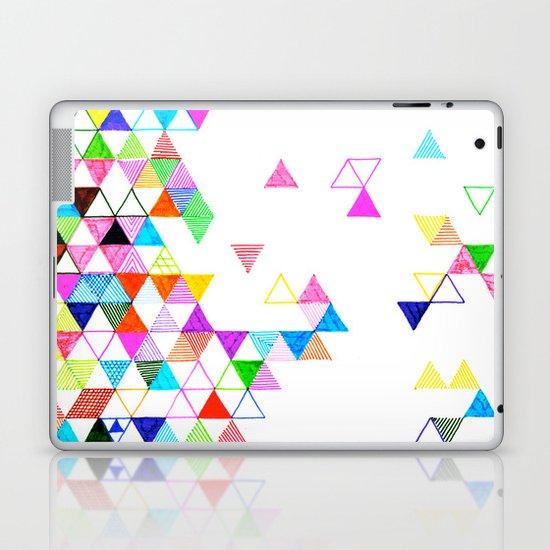 Falling Into Place Laptop & iPad Skin