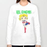 manga Long Sleeve T-shirts featuring manga. by KillGorgons