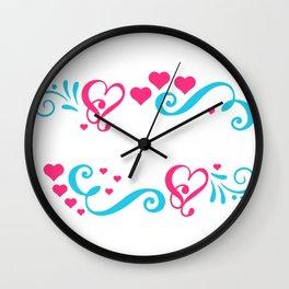 Mrs. & Mrs. Gay Marriage Lesbian LGBT Wall Clock
