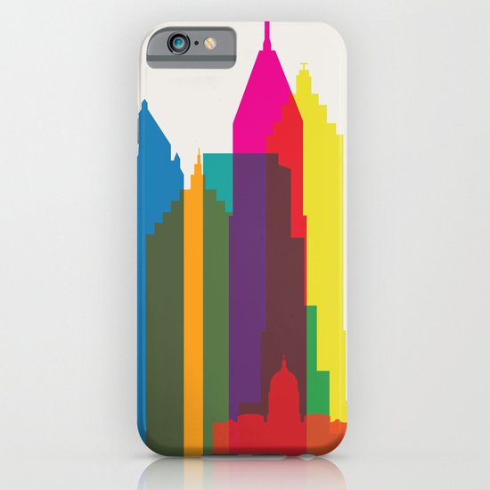 Shapes of Atlanta. Accurate to scale iPhone & iPod Case