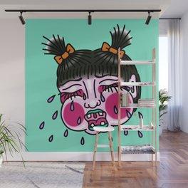 Cry Baby Girl Wall Mural