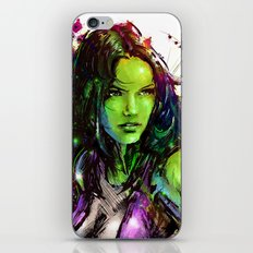 She-Hulk iPhone & iPod Skin