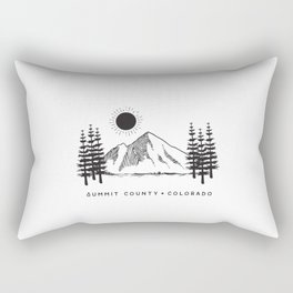 Summit County, Colorado Rectangular Pillow
