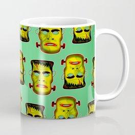 Frankenstein Monster Mask Coffee Mug