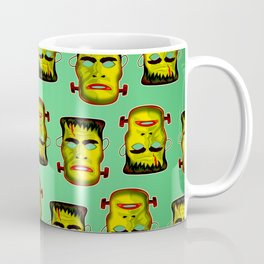 Frankenstein Monster Mask Coffee Mug