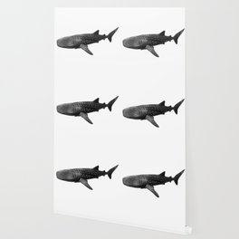 Big Fish, B & W Wallpaper