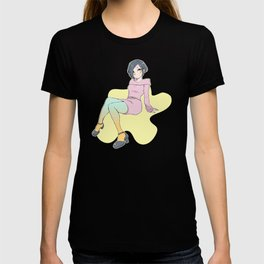 Color tights T-shirt