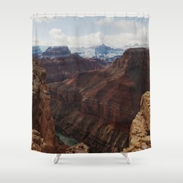 Marble Canyon Shower Curtain